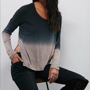 Free people ombré sweater